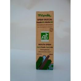 Spray buccal propolis bio, menthe bio