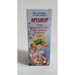 Sirop adoucissant au miel, thym, guimauve et propolis