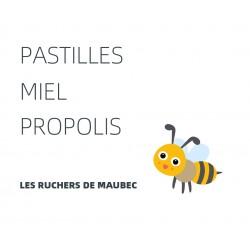 Pastilles miel propolis