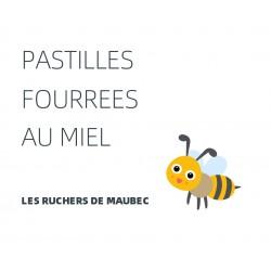Pastilles fourrées au miel
